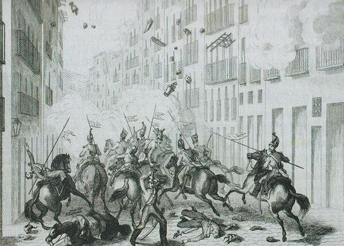 Революция  1840-х годов. Восстание в Барселоне