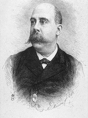 Эмилио Кастеляр - профессор истории Мадридского университета в XIX веке