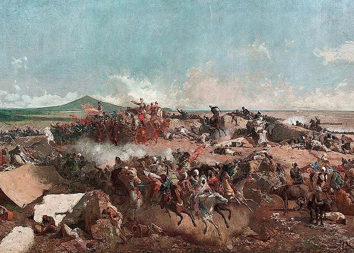 �спано-марокканская война (1859—1860). Битва при Тетуане