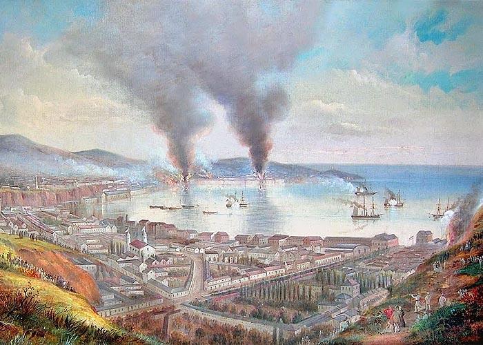 Первая тихоокеанская война (1864 - 1871 г.г.)
