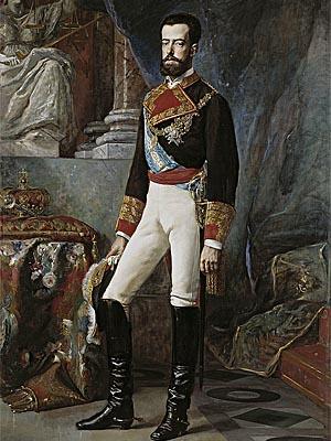 Амадей I  Савойский - король �спании с 1870 по 1873 г.г.