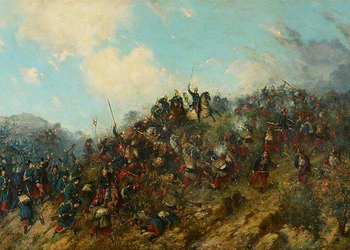 Вторая карлистская война (1872 - 1876 г.г.) Битва при Тревино