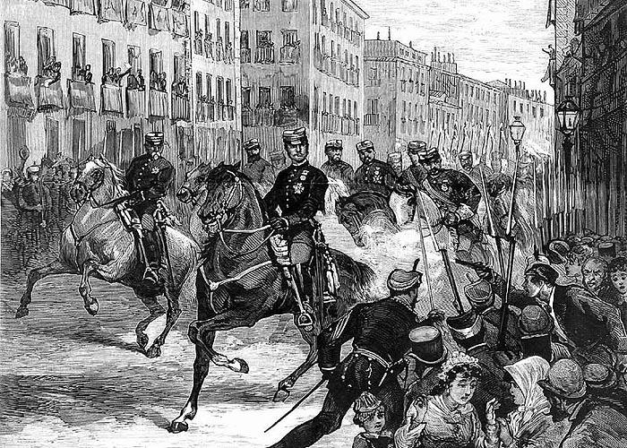 Восстановление династии Бурбонов в �спании