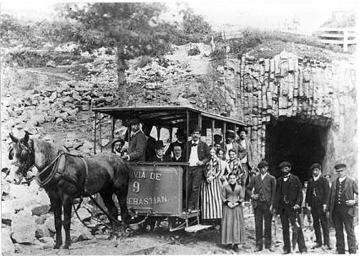 Экономическое развитие �спании в начале ХХ века: трамвай в Сан-Себастьян