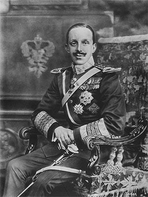 Альфонсо XIII - король �спании в 1886—1931 г.г.