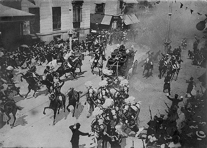 Общественно-политическое развитие �спании в начале ХХ века. Нападение на короля Альфонсо XIII в 1906 г.