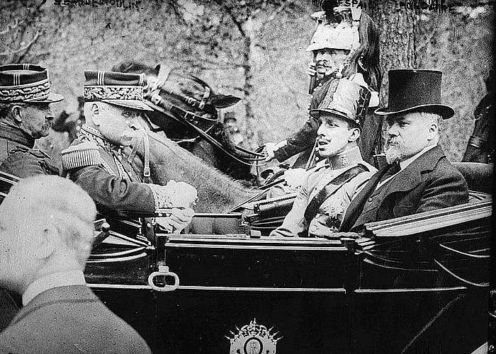 Визит Альфонсо XIII в Париж в 1913 году