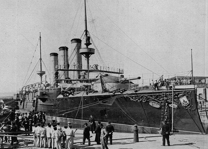 �спанский военно-морской флот накануне Первой мировой войны: крейсер Карл V