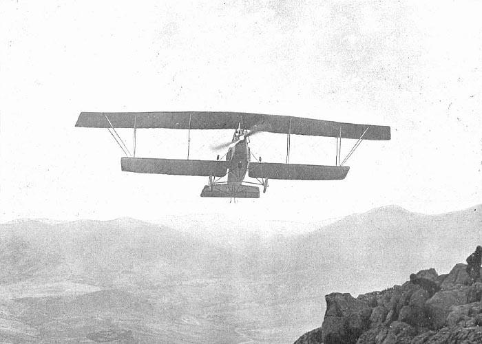 �спанская военная авиация времен Первой мировой войны