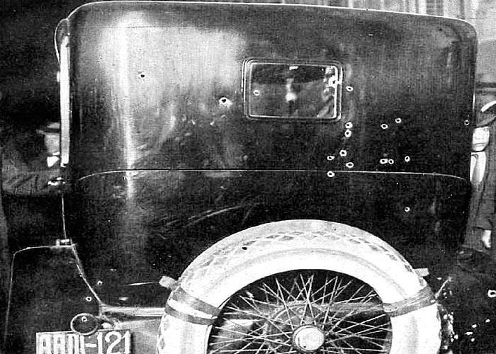 Автомобиль, в котором в 1921 г. был убит Э.Дато