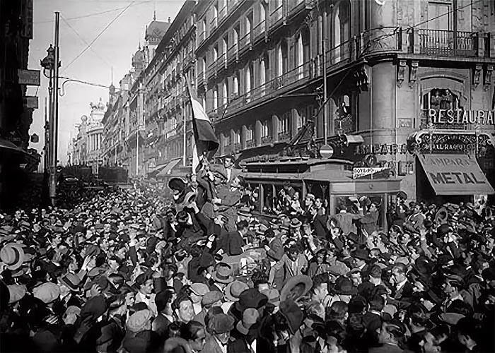 Буржуазно-демократическая революция в �спании в 1931 г.