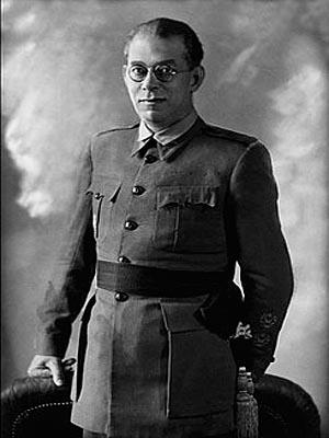 Эмилио Мола — испанский военачальник, участник гражданской войны 1936—1939 г.г.