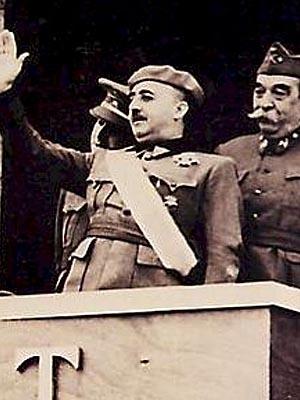 Франсиско Франко — испанский военный и государственный деятель, каудильо �спании в 1939—1975 годах