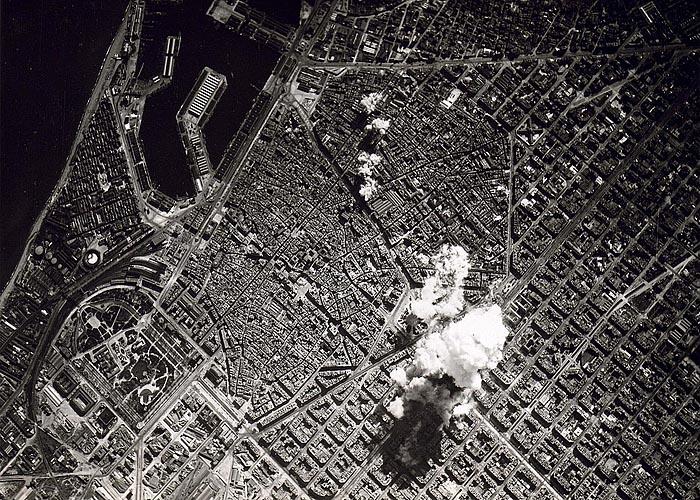 Бомбардировка Барселоны итальянскими ВВС 17 марта 1938 года