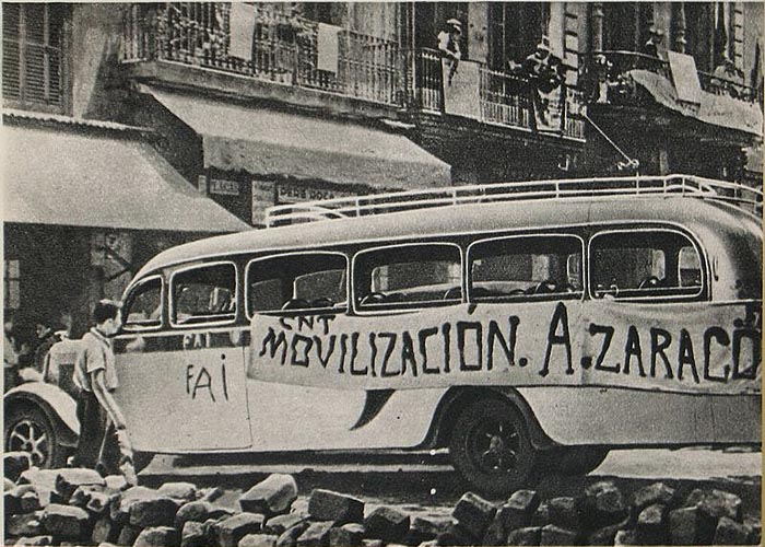 Столкновения в Барселоне в мае 1937 г.