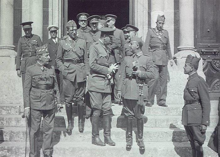 Политика франкистов в период Гражданской войны 1936-1939 г.г.
