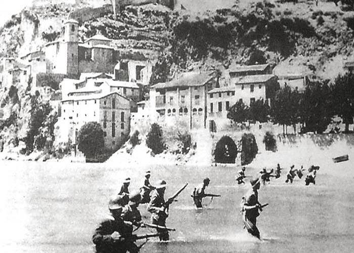 Гражданская война в �спании 1936 - 1939 г.г. (Битва на Эбро, 1938 г.)