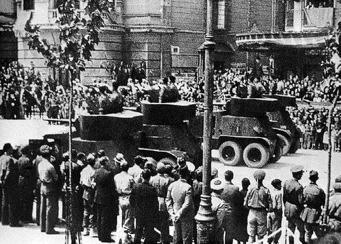 �тоги Гражданской войны в �спании 1936 - 1939 г.г.