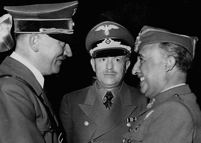 Встреча Ф. Франко и А.Гитлера 23 октября 1940 г.