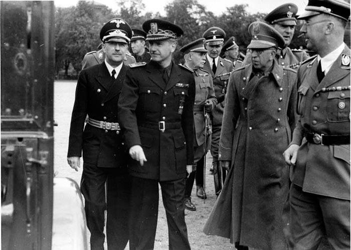 Визит в Берлин испанской делегации во главе с Суньером
