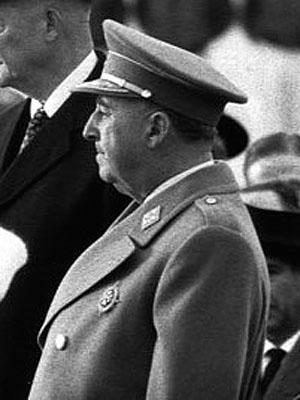 Ф. Франко в 1959 году. Было очень трудно убедить его утвердить План стабилизации, особенно девальвацию песеты