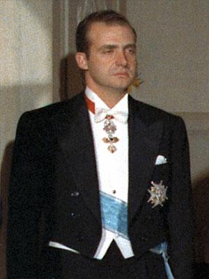Хуан Карлос I де Бурбон - король �спании в 1975  - 2014 г.г.