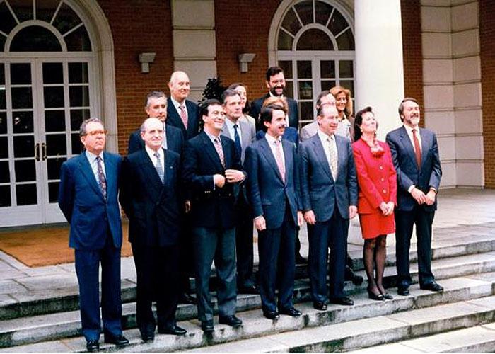 Первое правительство Х.М. Аснара (1996 г.)