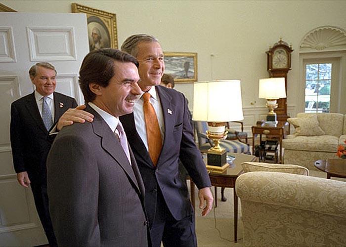 Встреча Х. М. Аснара и Дж. Буша в Белом доме (ноябрь 2001 г.)