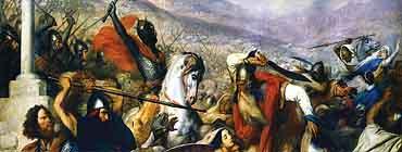 �спания в период Раннего Средневековья (V - XI в.в.)