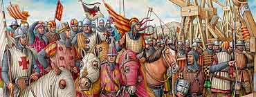 �спания  в XIV веке