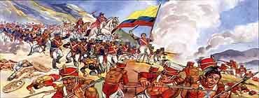 �спанские колонии в первой половине XIX века