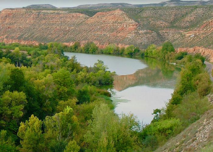 Река Эбро в �спании