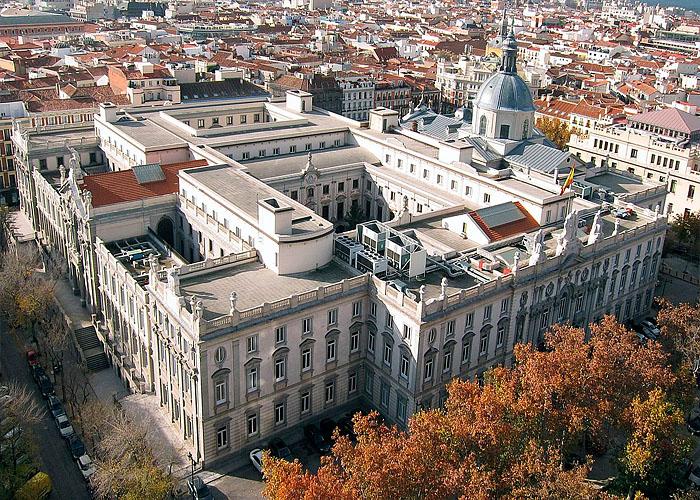 Здание Верховного суда �спании (Мадрид)