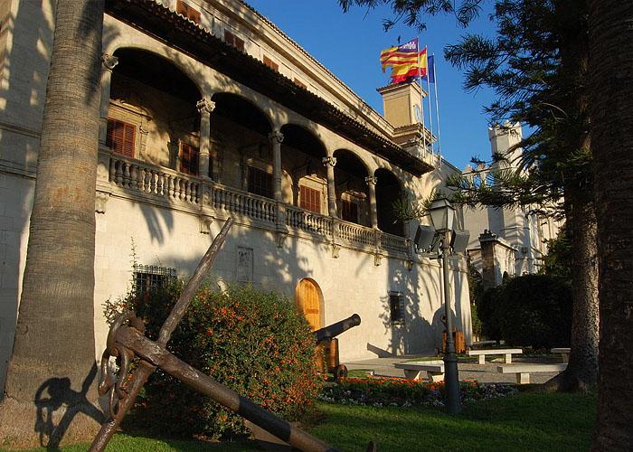 Резиденция Правительства Балеарских островов в Пальма де Майорка
