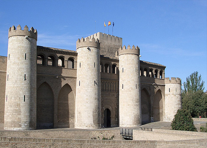 Дворец Альхаферия - резиденция Кортесов Арагона