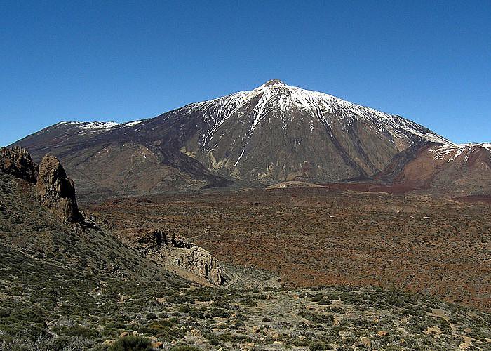 Вулкан Тейде - высочайшая точка �спании (3718 м)