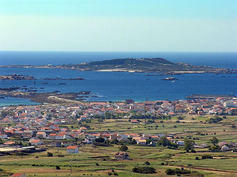 Остров Сальвора (Isla de Sálvora) в Галисии