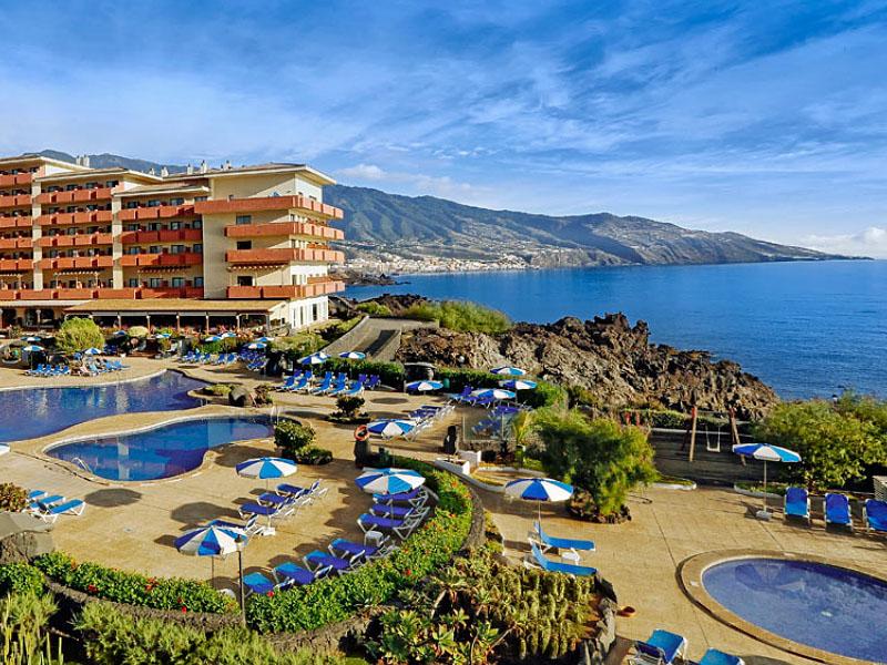 Отель Taburiente Playa на острове Пальма (Канарские острова)