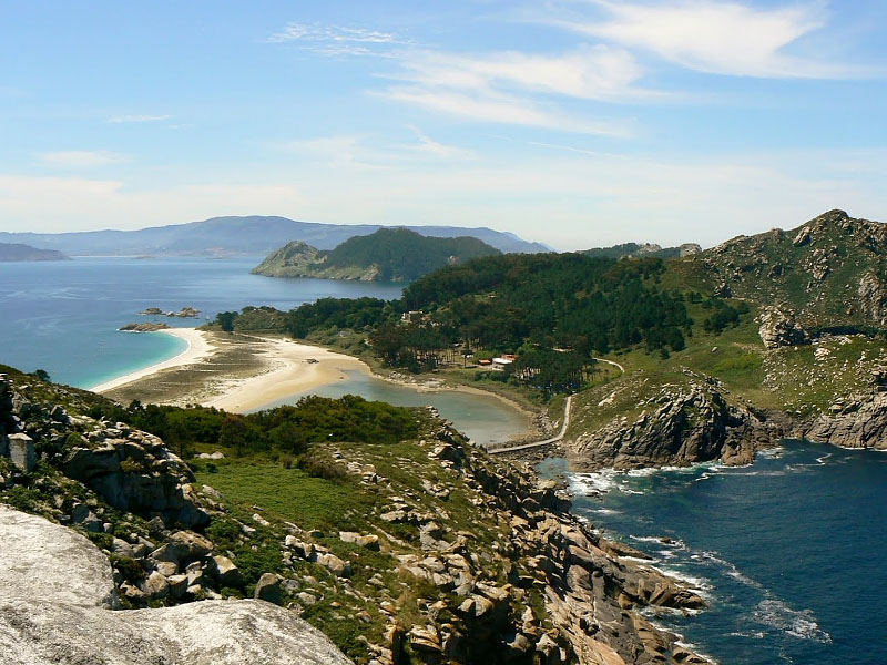 Остров Онс  (isla de Ons) в Галисии