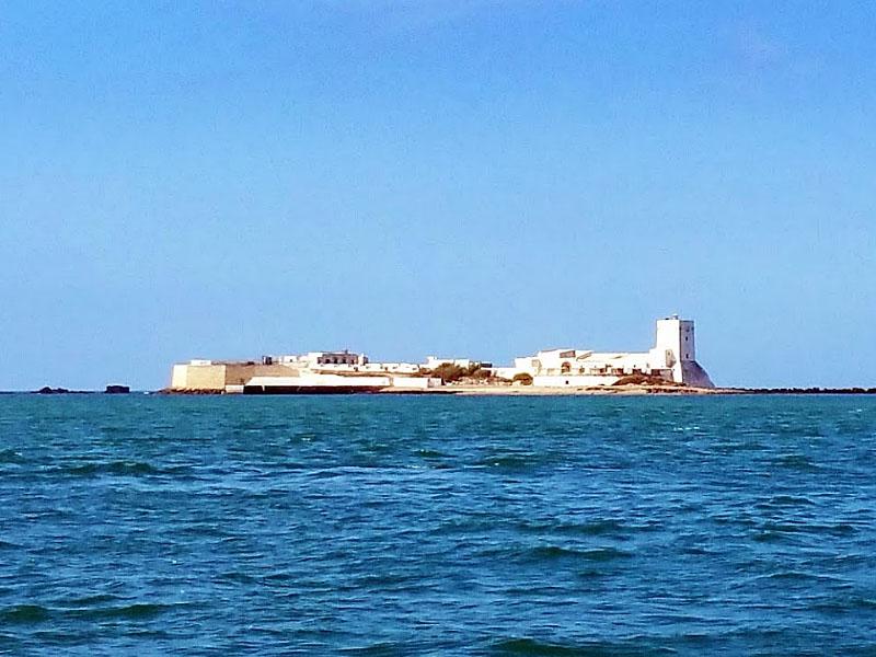 Остров Санкти-Петри (Islote de Sancti Petri) в Андалусии