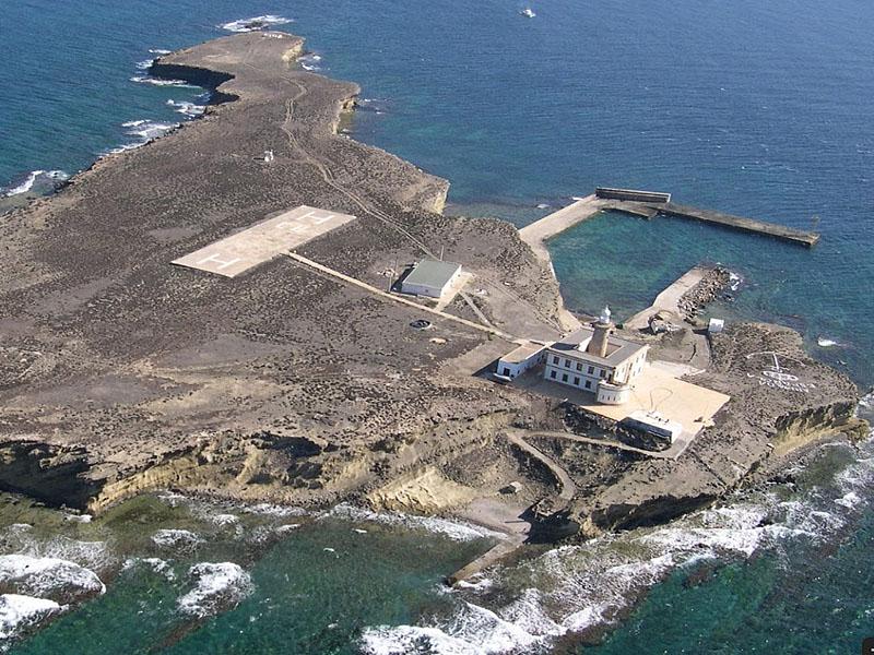 Остров Альборан (Isla de Alborán) в Средиземном море