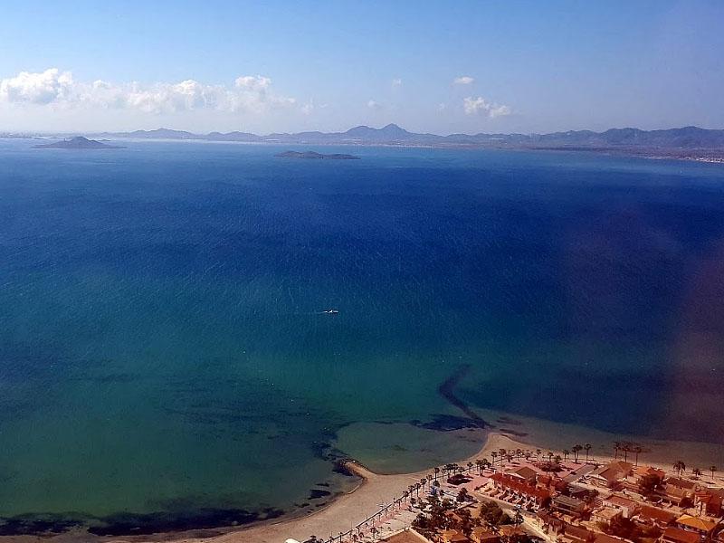 Лагуна Мар Менор (Mar Menor) в Мурсии (�спания)
