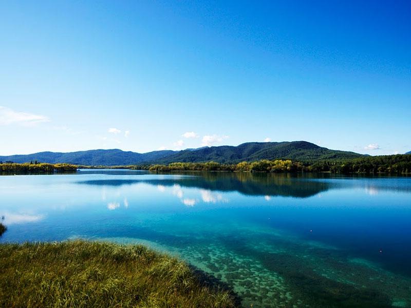 Озеро Баньолес (Banolas) в �спании