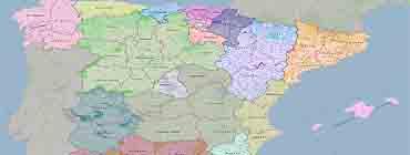 Административно-политическая карта �спании: провинции