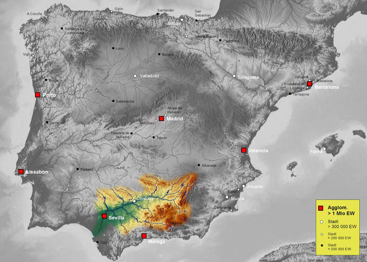 Бассейн реки Гвадалквивир (Guadalquivir)