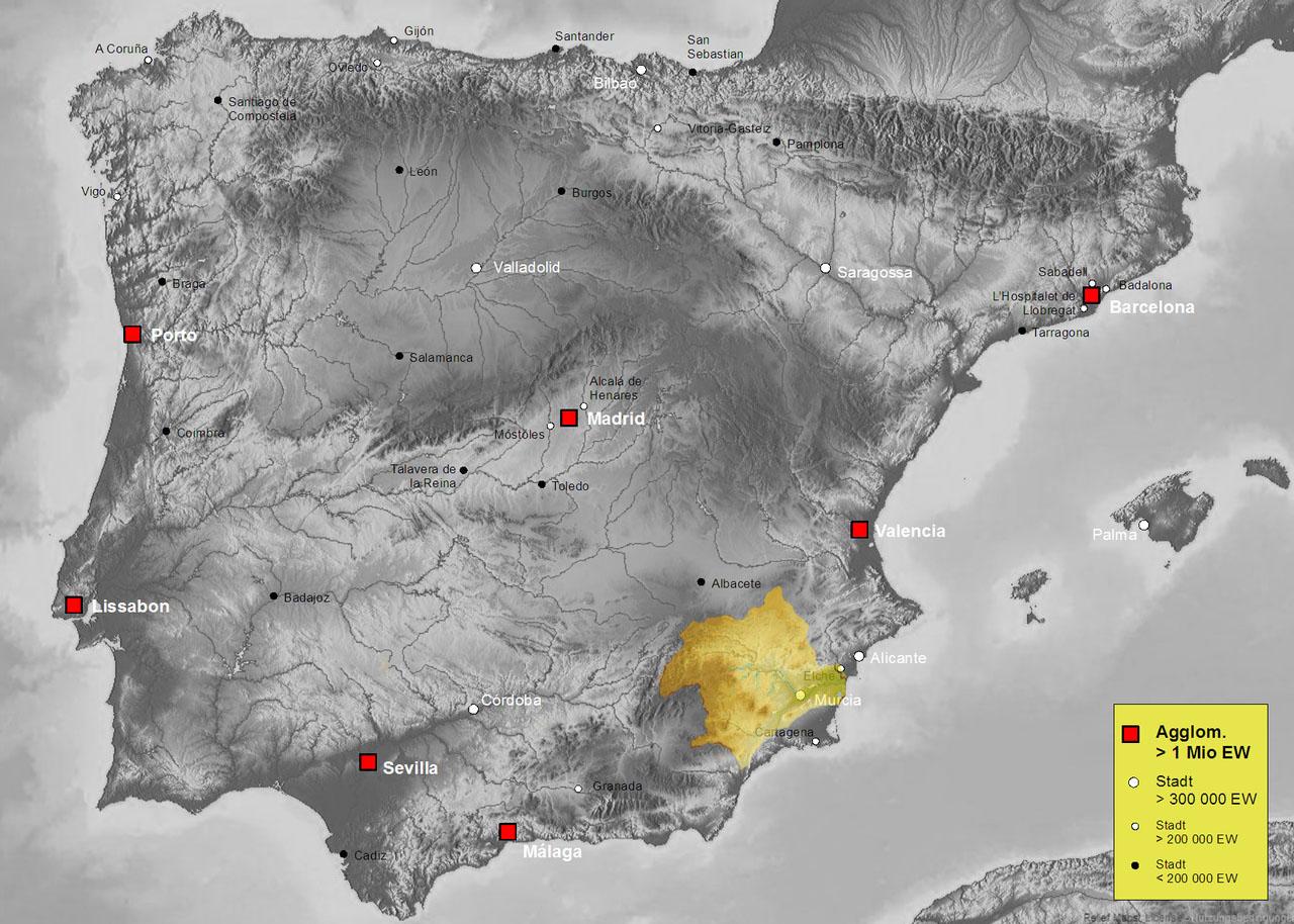 Бассейн реки Сегура (Segura)
