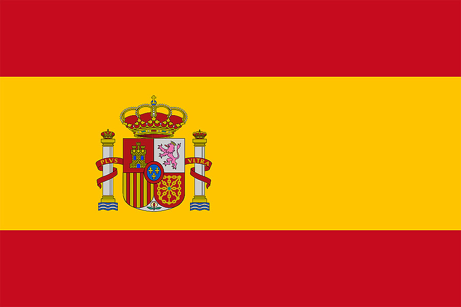 Современный флаг �спании