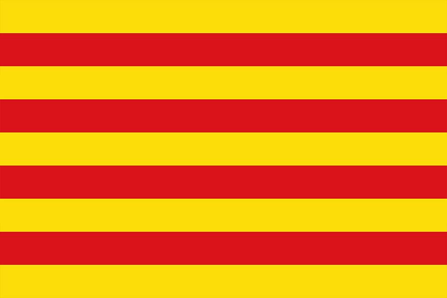 Флаг Арагона с 1150 года