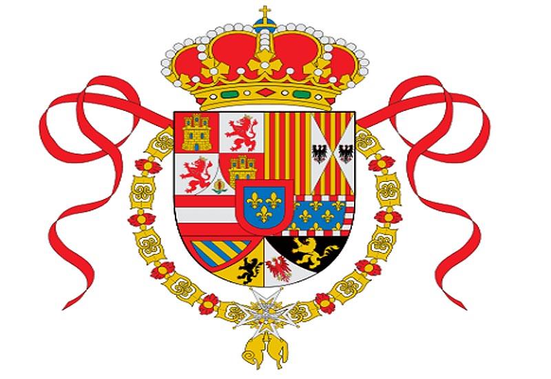 Флаг �спании в период 1701 - 1760 г.г.