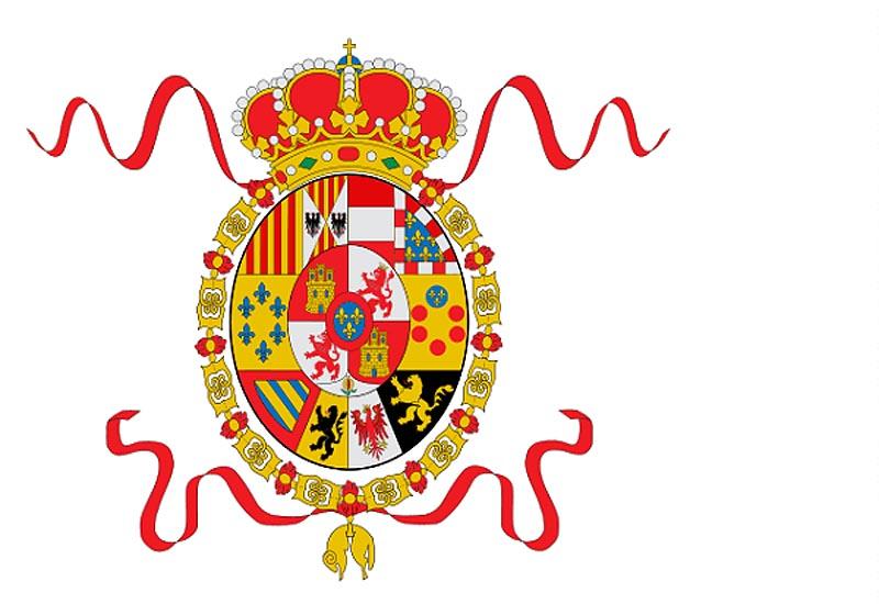 Флаг �спании в период 1760 - 1785 г.г.